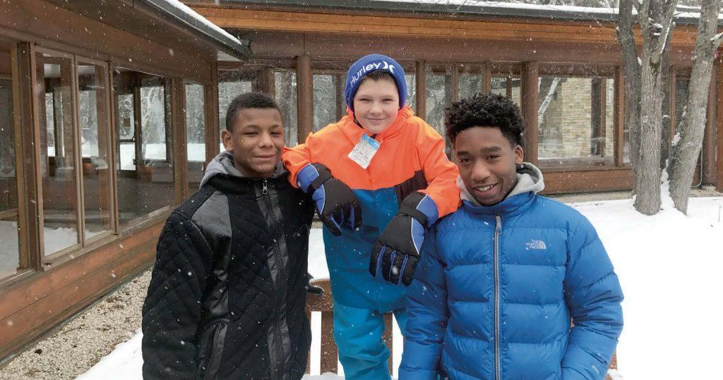 Kids at UAW Black Lake